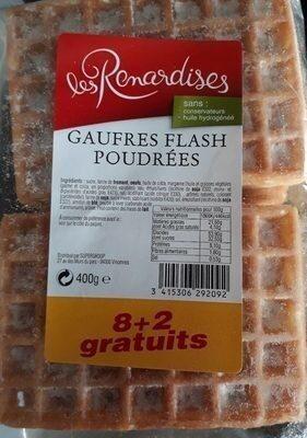 Gaufres Flash Poudrées - Product - fr