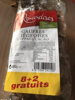 Gaufres - Product