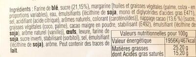 Gaufres - Ingredients - fr