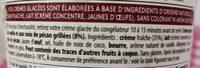 Haagen-Dazs Vanilla pecan - Ingrédients - fr