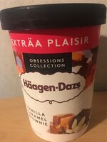 Glace Haagen-dazs vanille caramel brownie - Product