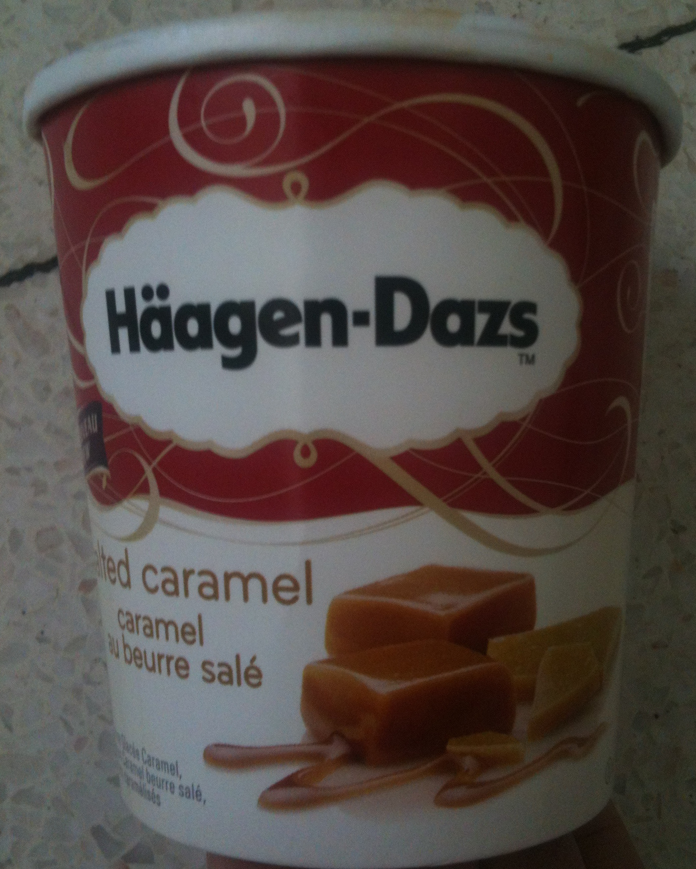 Häagen-Dazs - Salted Caramel (Caramel au beurre salé) - Product