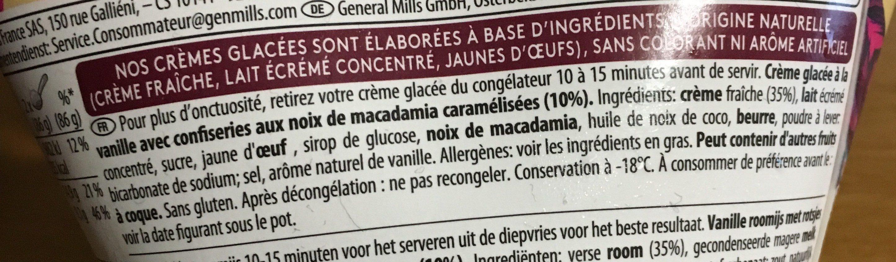 Macadamia nut brittle - Ingrediënten