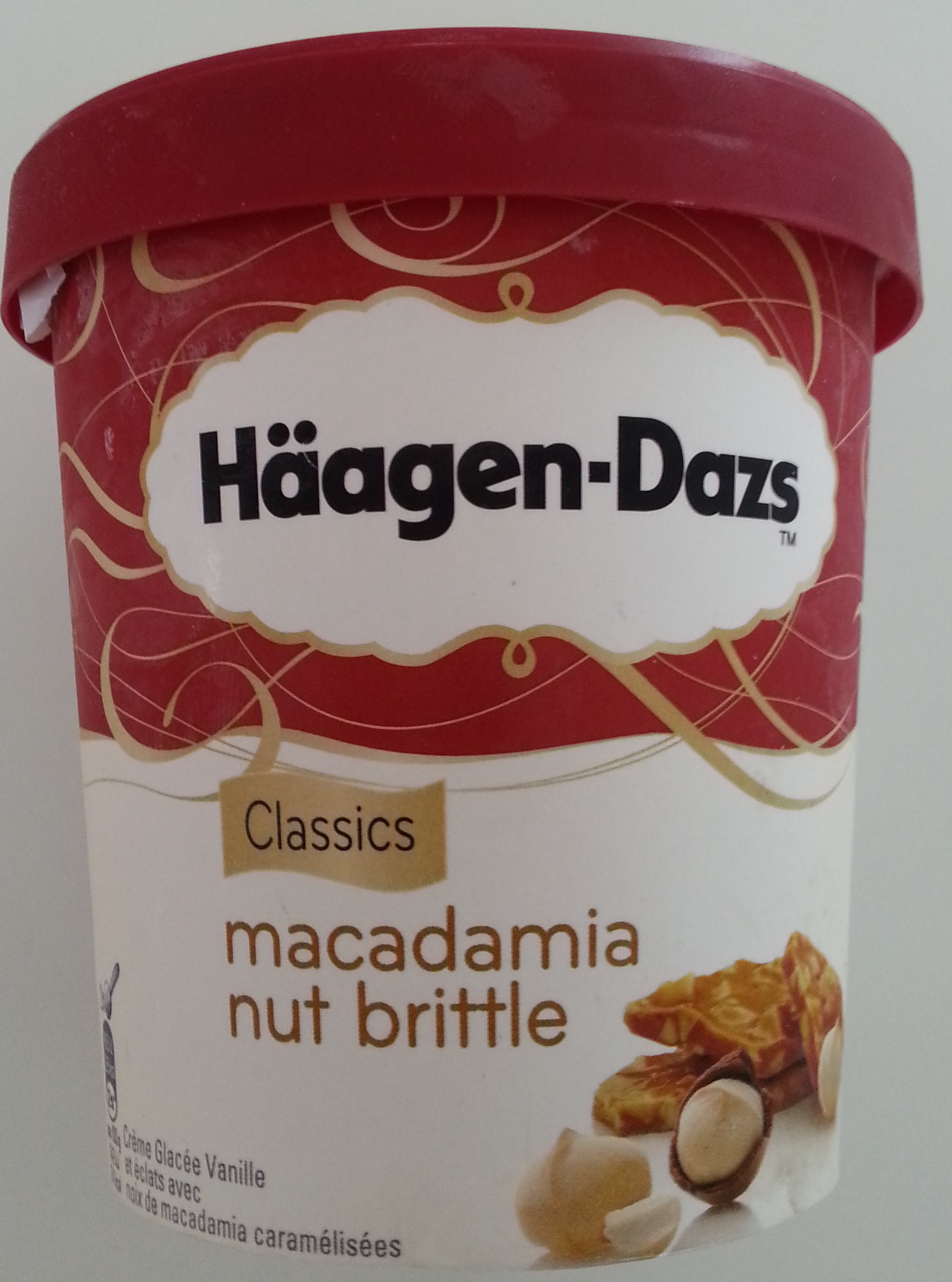 Macadamia nut brittle - Product