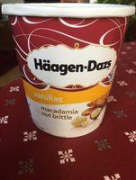 Vanillas macadamia nut brittle - Produit