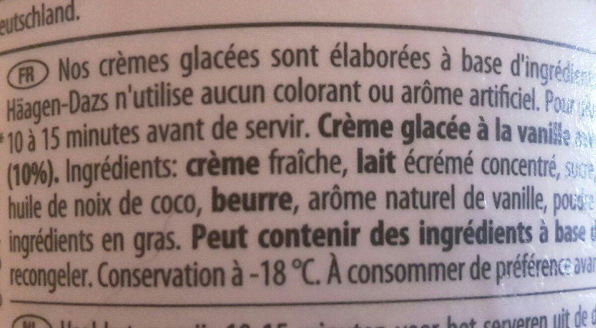 Vanillas macadamia nut brittle - Ingrédients