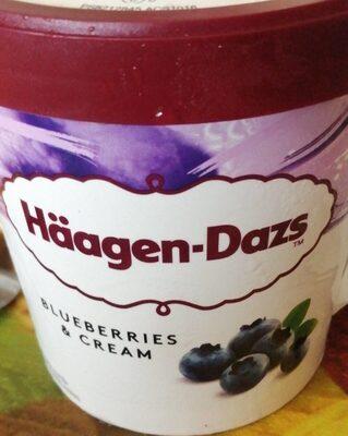 Haagen-Dazs Blueberries & Cream - Product