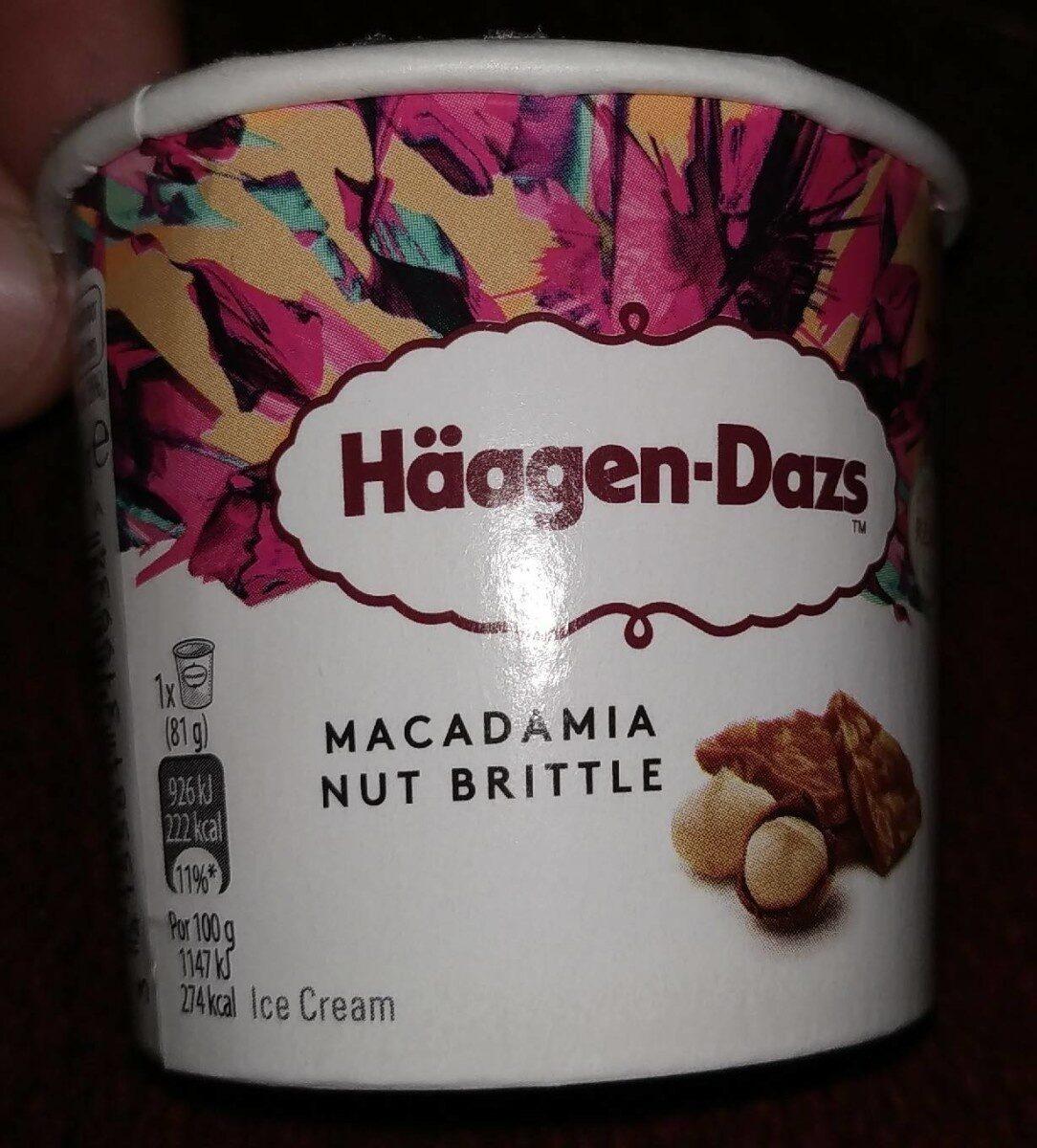 Häagen Dazs  Macadamia 95ml - Producte - es