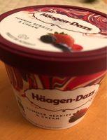 Creme glace fruit rouge - Produit - fr