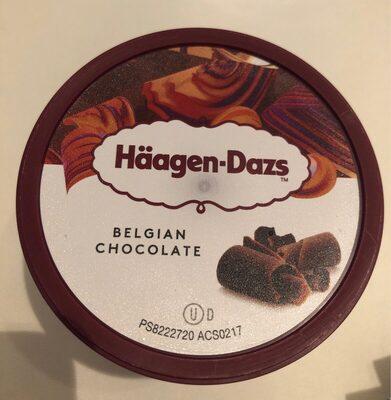 Crème glacée chocolat au chocolat Belge - Produit - fr