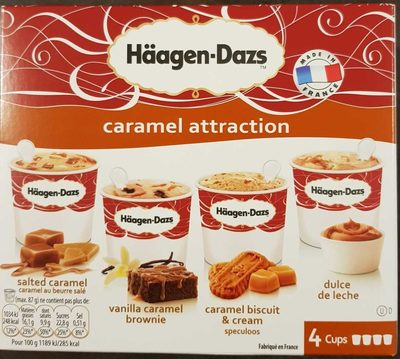 4 mini pots - Caramel Attraction - Produit - fr