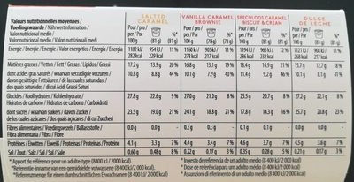 Glace Caramel Attraction - Informations nutritionnelles - fr