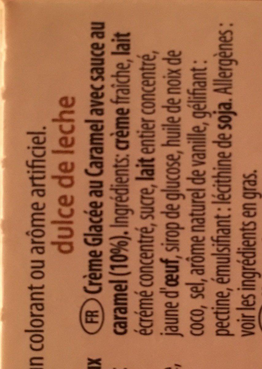 Dulce De Leche - Ingrédients
