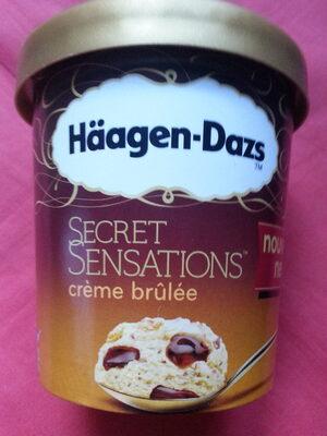 Secret sensations crème brûlée - Produit