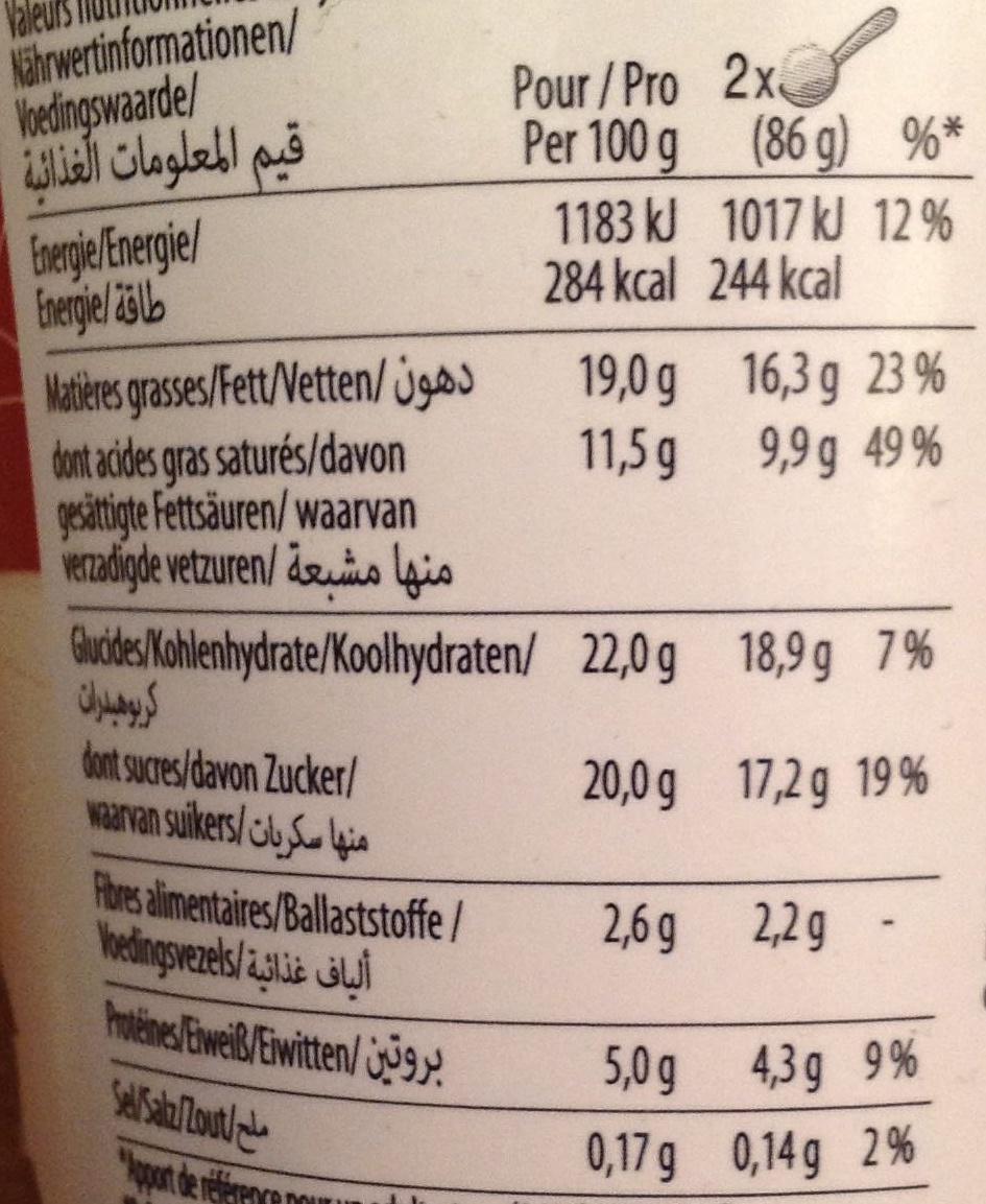 Creations Dark chocolate & almonds - Häagen-Dazs - 500 ml (430 g)