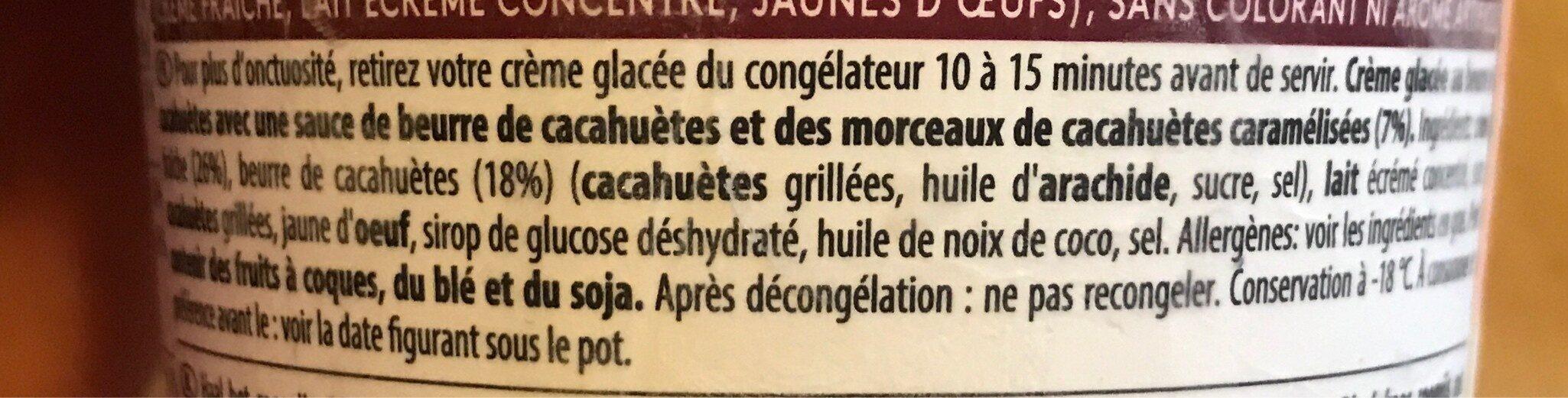 Peanut butter crunch - Ingrédients - fr