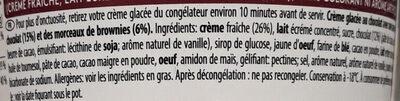 Chocolate Frappé Barista Collection - Ingrédients