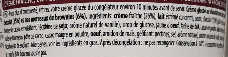 Chocolate Frappé Barista Collection - Ingrédients - fr
