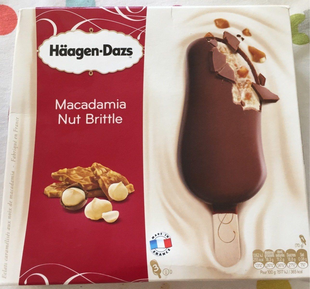Crème Glacée Macadamia Nut Britle - Product