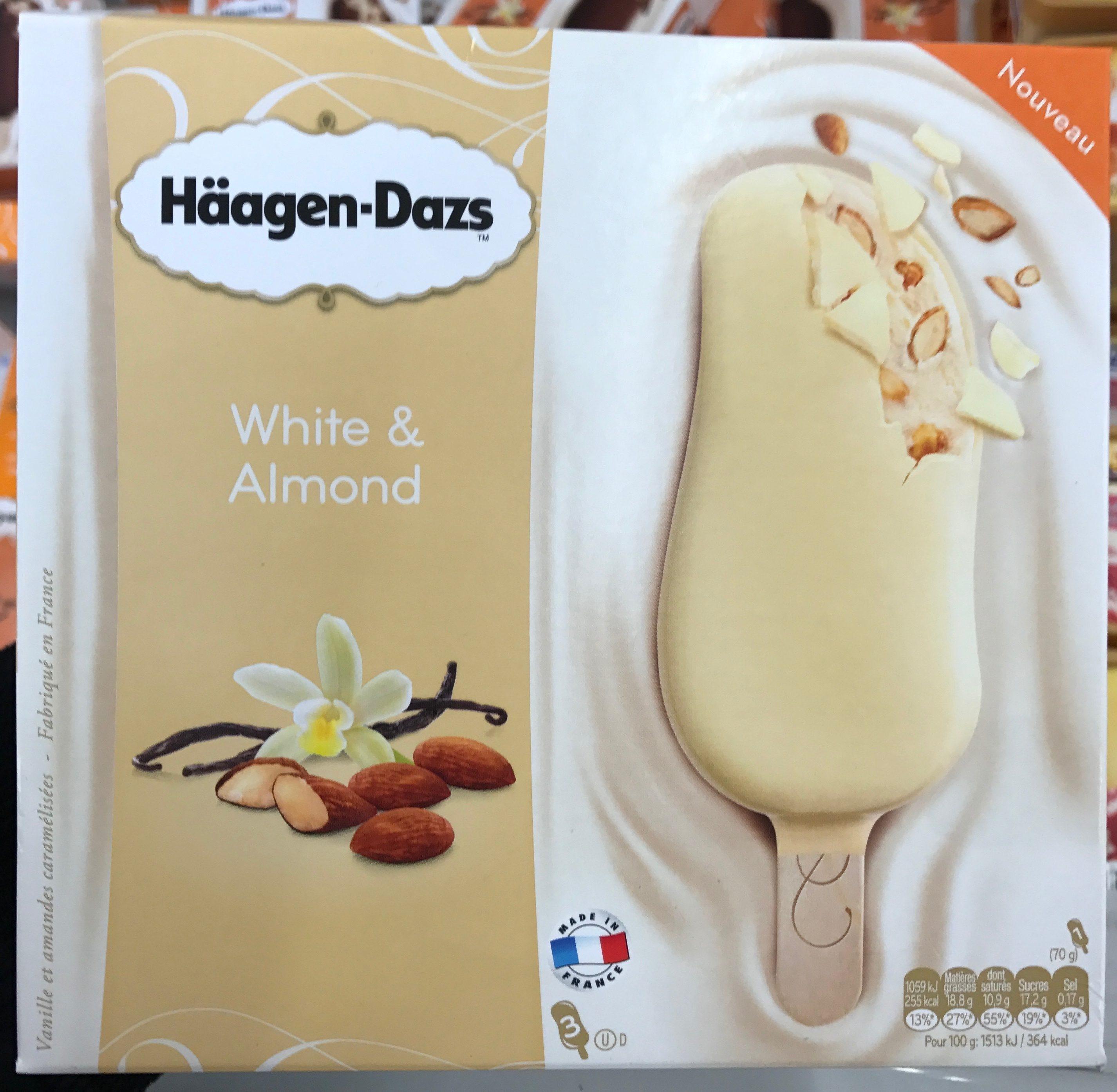 White & Almond - Häagen-Dazs - 210 g (240 ml)
