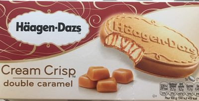 Cream Crisp Double Caramel - Produit - fr