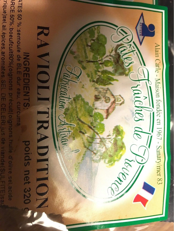 Ravioli tradition - Produit - fr