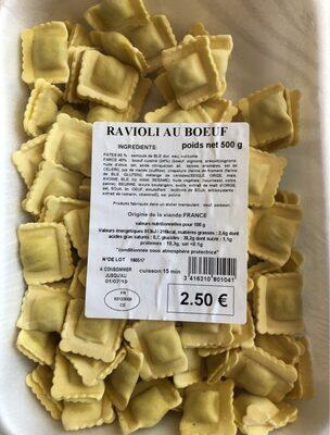 Ravioli au boeuf - Produit - fr