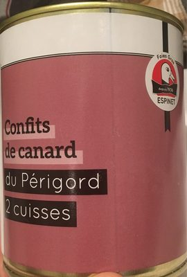 Confits de Canard du Périgord - Product