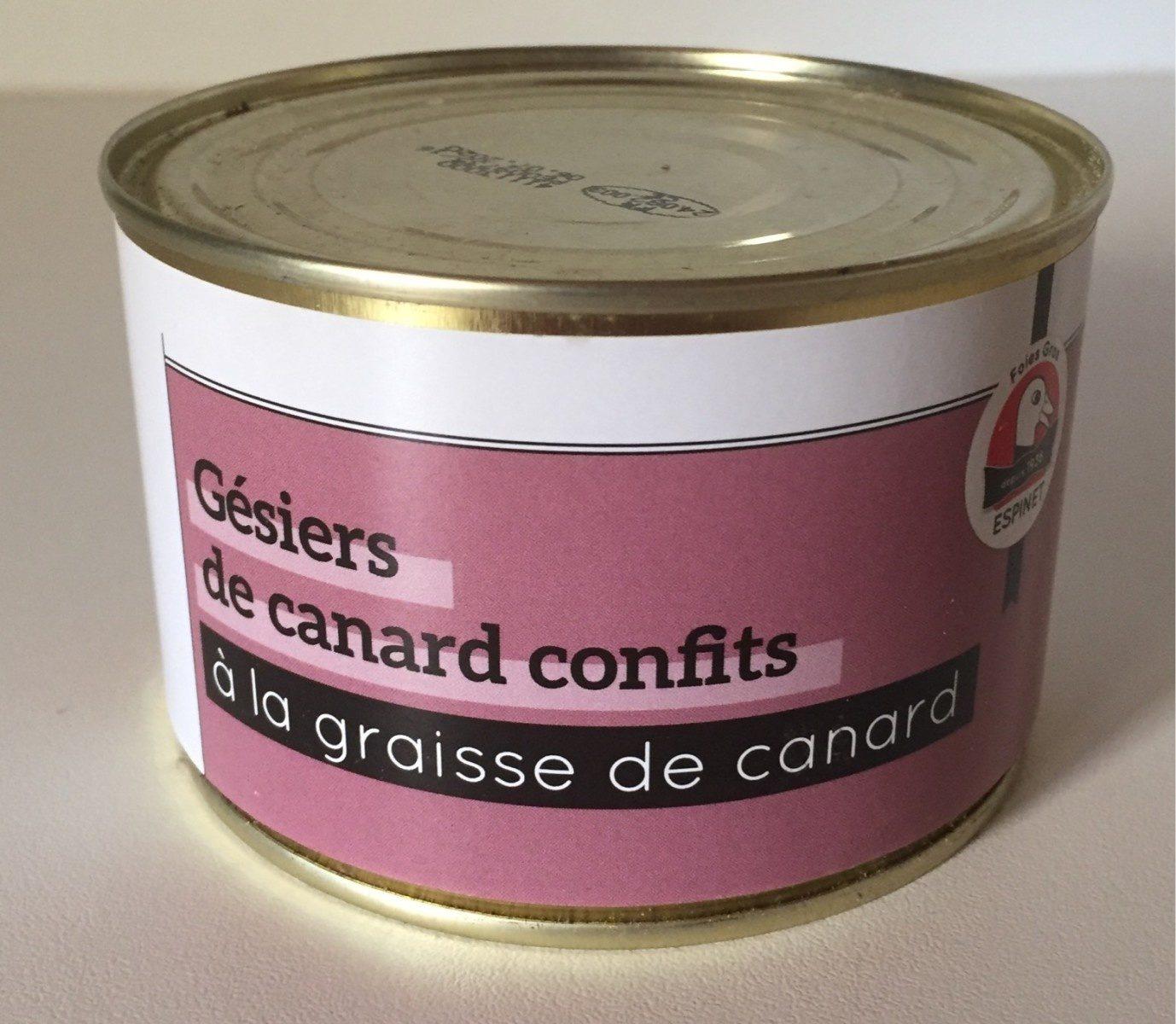 Gésiers de canard confits à la graisse de canard ESPINET - Product