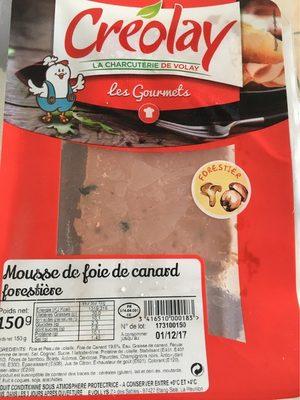 Mousse de foie de canard forestière - Product - fr