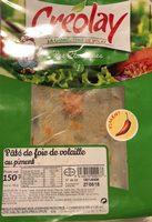 Pâté de foie de volaille au piment - Produit