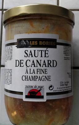 sauté de canard à la fine champagne - Produit