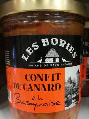 Confit de canard à la basquaise - Produit - fr