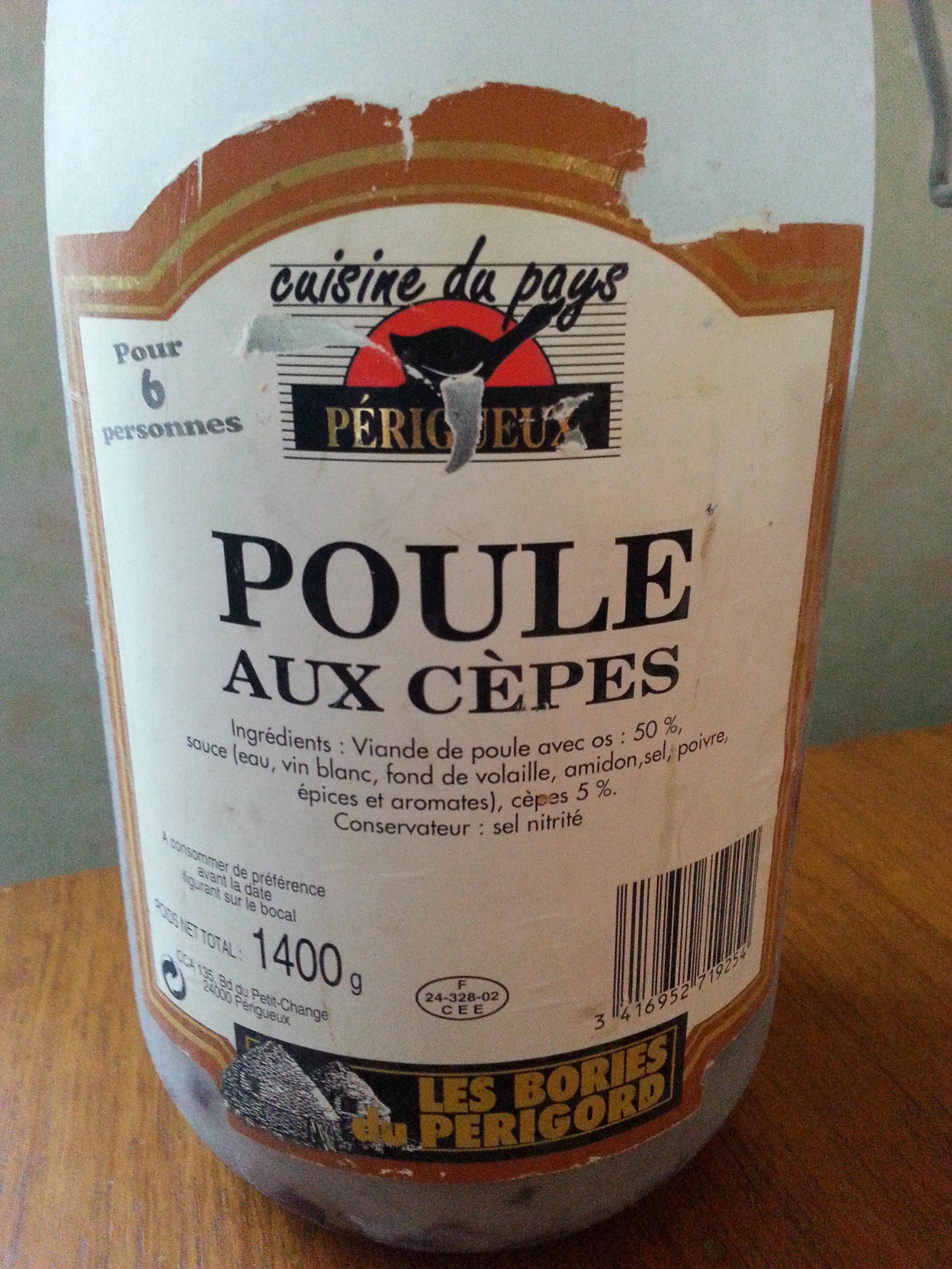 Poule aux Cèpes - Produit - fr