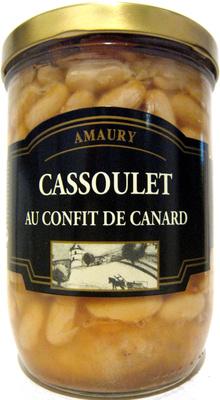 how to cook cassoulet au confit de canard