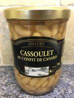 Cassoulet au Confit de Canard - Informations nutritionnelles