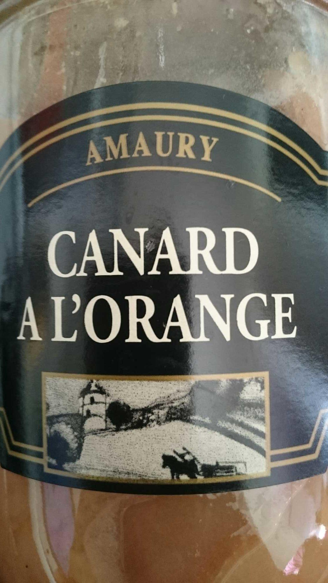 Canard à l'orange - Produit - fr