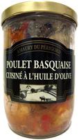 Poulet Basquaise Cuisiné à l'Huile d'Olive - Produit