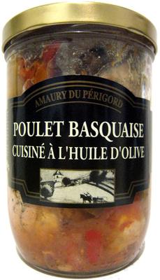 Poulet Basquaise Cuisiné à l'Huile d'Olive - Produit - fr