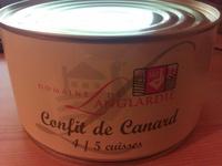 Confit de Canard - 4/5 cuisses - Produit - fr