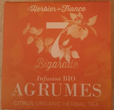 infusion bio agrumes - Produit - fr