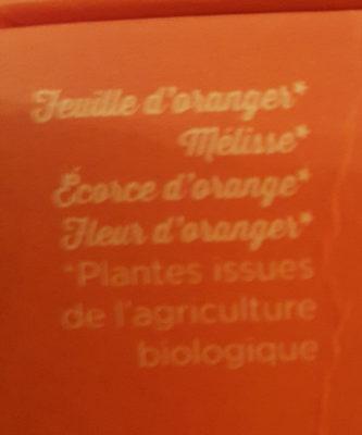 infusion bio agrumes - Ingrédients - fr