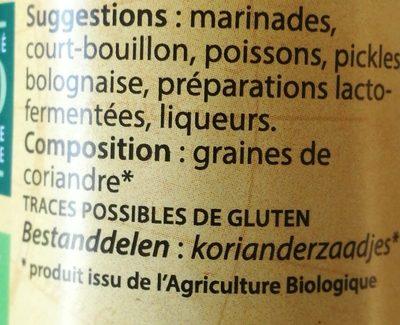 Coriandre graines - 7