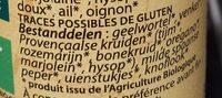 Épices pour Paella - Ingrediënten - nl