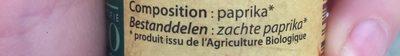 Paprika doux - Ingrediënten - fr