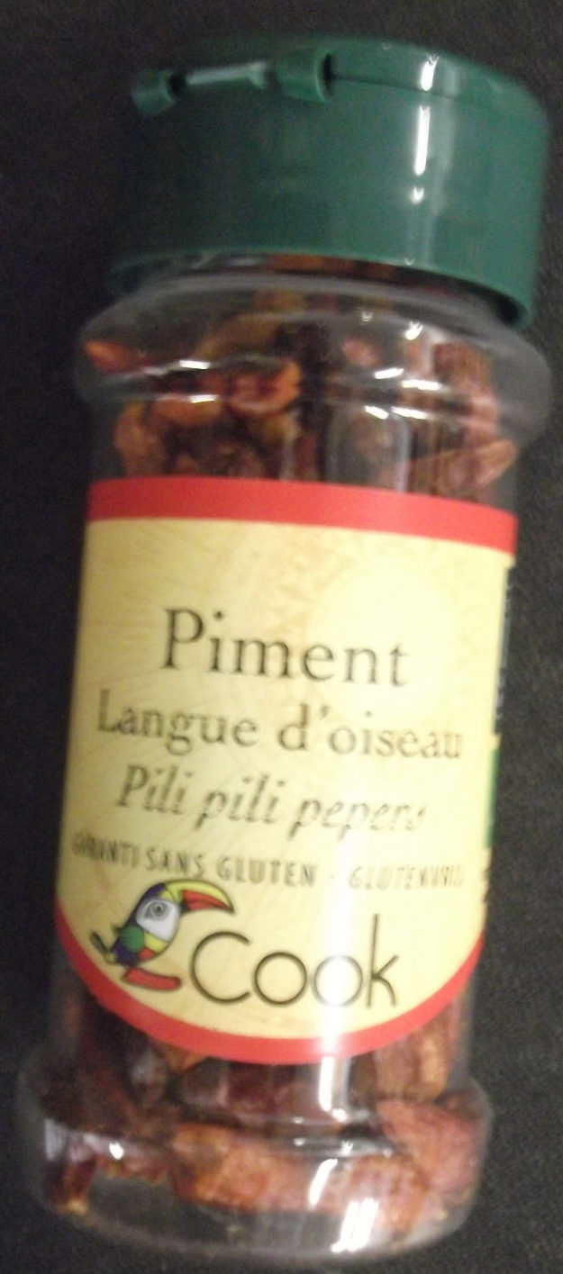 Piment Langue d'Oiseau - Product - fr