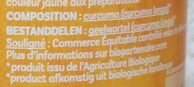 Curcuma - Ingredients - fr