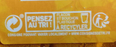 Curcuma - Recycling instructions and/or packaging information - fr