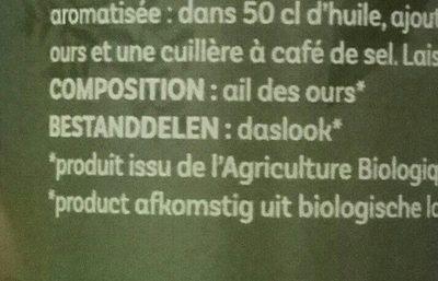 Ail des ours - Ingrediënten - fr