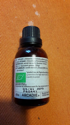 Vanille bourbon extract - Ingredients - fr
